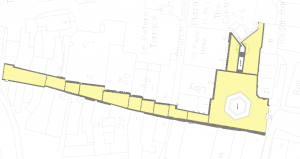 Map of the area that will be resurfaced