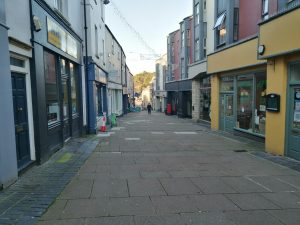Image of Town Street, one of the areas to benefit from a new surface Image courtesy of SMTC