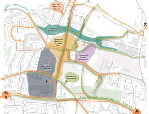 Have your say on Mendip District Council's Masterplan for Shepton