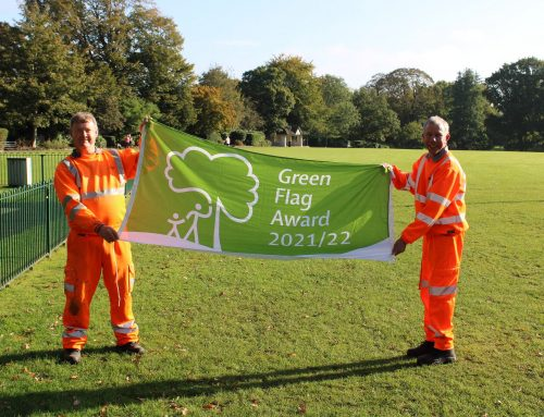 Collett Park flies the flag as one of the country's best parks